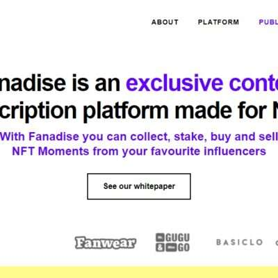 Fanadise.com Ico Review: With Fanadise you can Collect, Stake