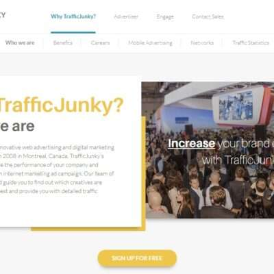 Trafficjunky.com Advertising Review : TrafficJunky Serves 4.6 billion Daily ad Impressions