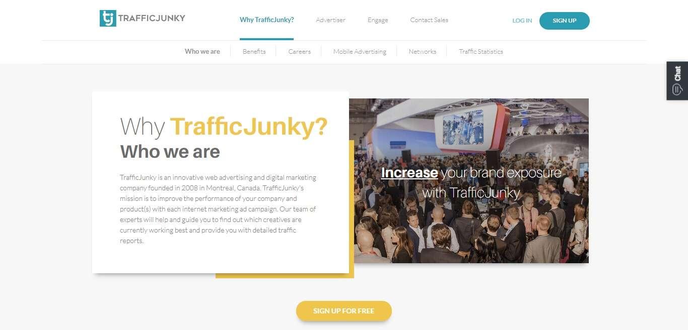 Trafficjunky.com Advertising Review : TrafficJunky Serves 4.6 billion Daily ad Impressions