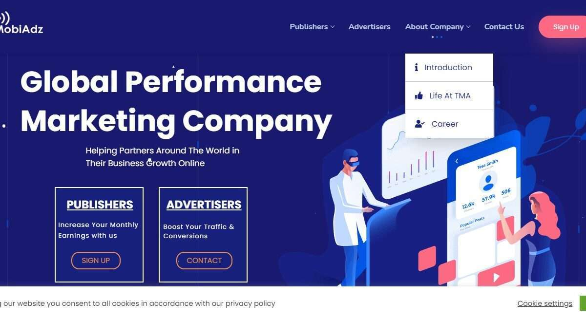 Themobiadz.com Advertising Review : Global Performance Marketing Company