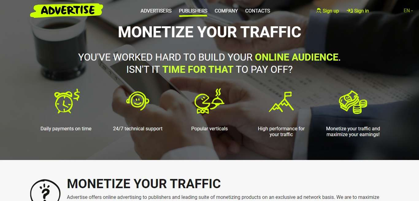 Advertise.pro Advertising Review : You Pay Only for Result!