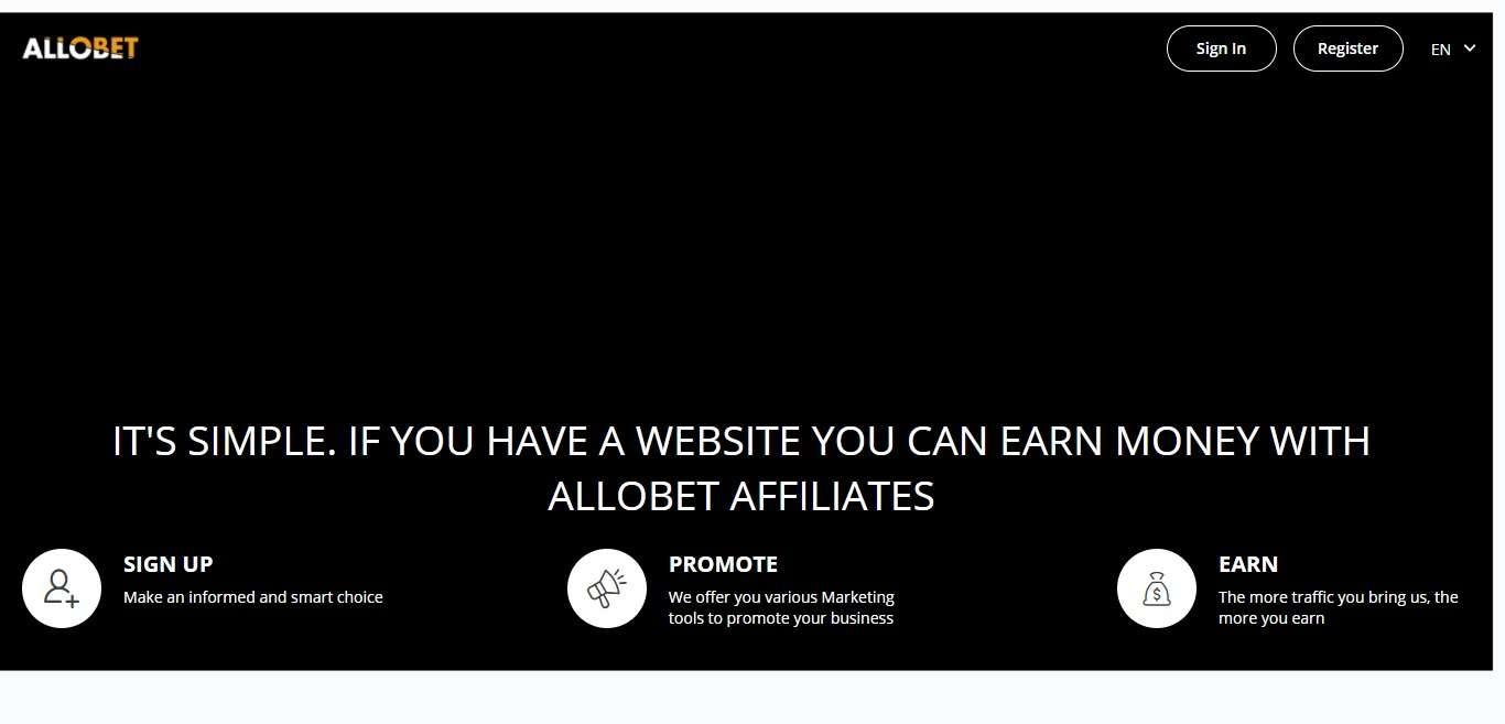 Allobet.com Advertising Review : Earn 25% - 35% revshare