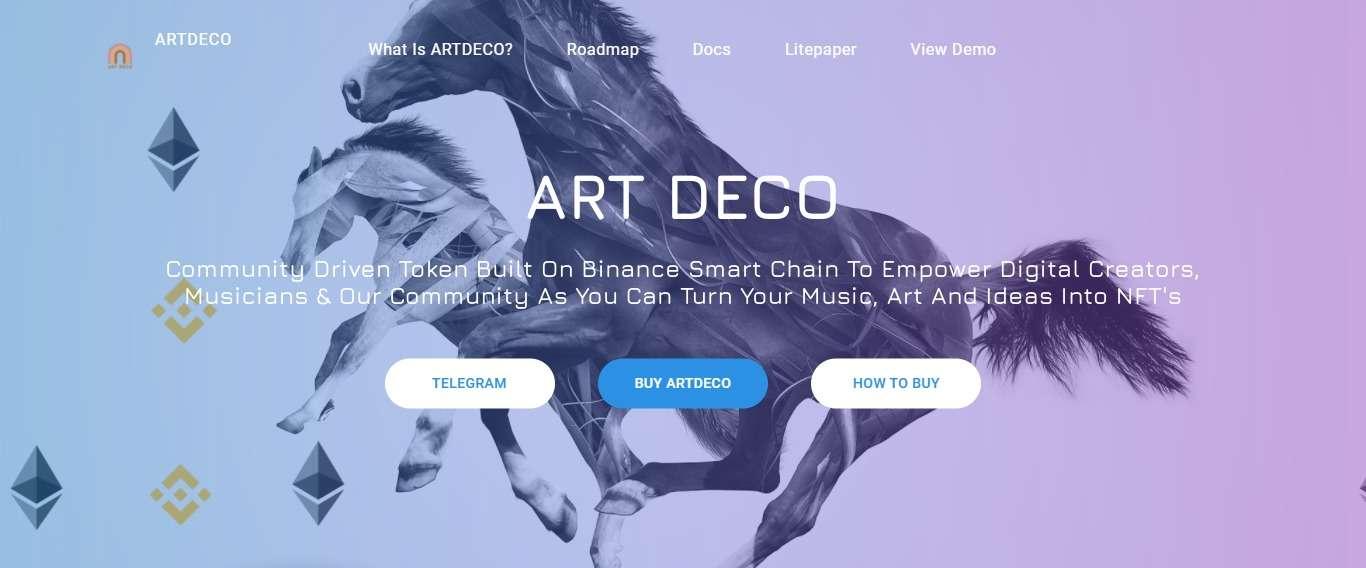 Artdeco Ico Review: Artdeco Built On Binance Smart Chain