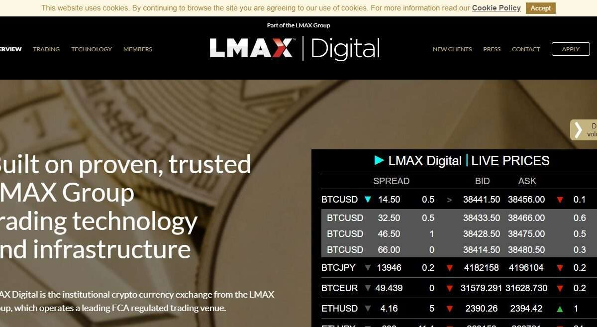 lmaxdigital.com Exchange Review : Built on Proven, Trusted LMAX Group Trading Technology and Infrastructure