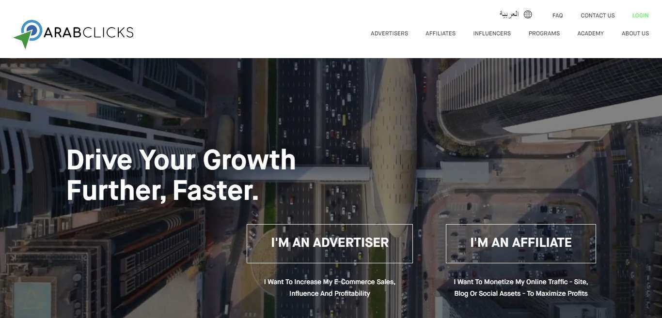Arabclicks.com Advertising Review : Grow Your Business With Influencer Marketing