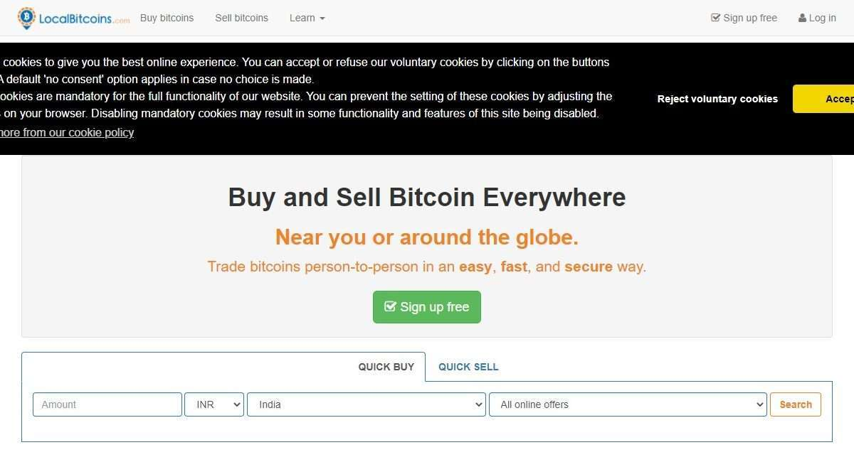 LocalBitcoins Exchange Review : It is Good Or Bad Review 2021