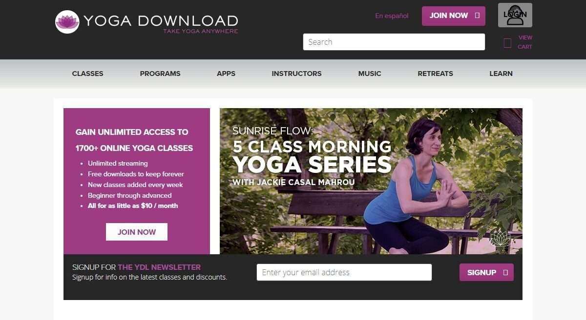 Yogadownload.com Advertising Review : Earn 12% Per Sale