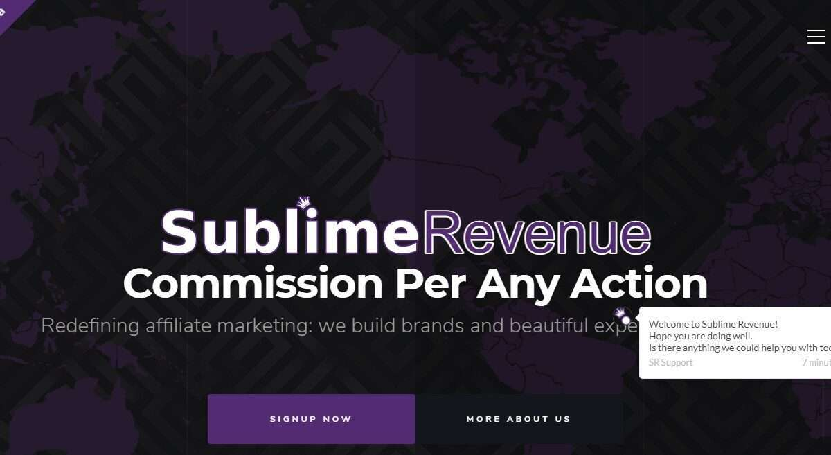 Sublimerevenue.com Advertising Review : Redefining Affiliate Marketing Build Brands and Beautiful Experiences