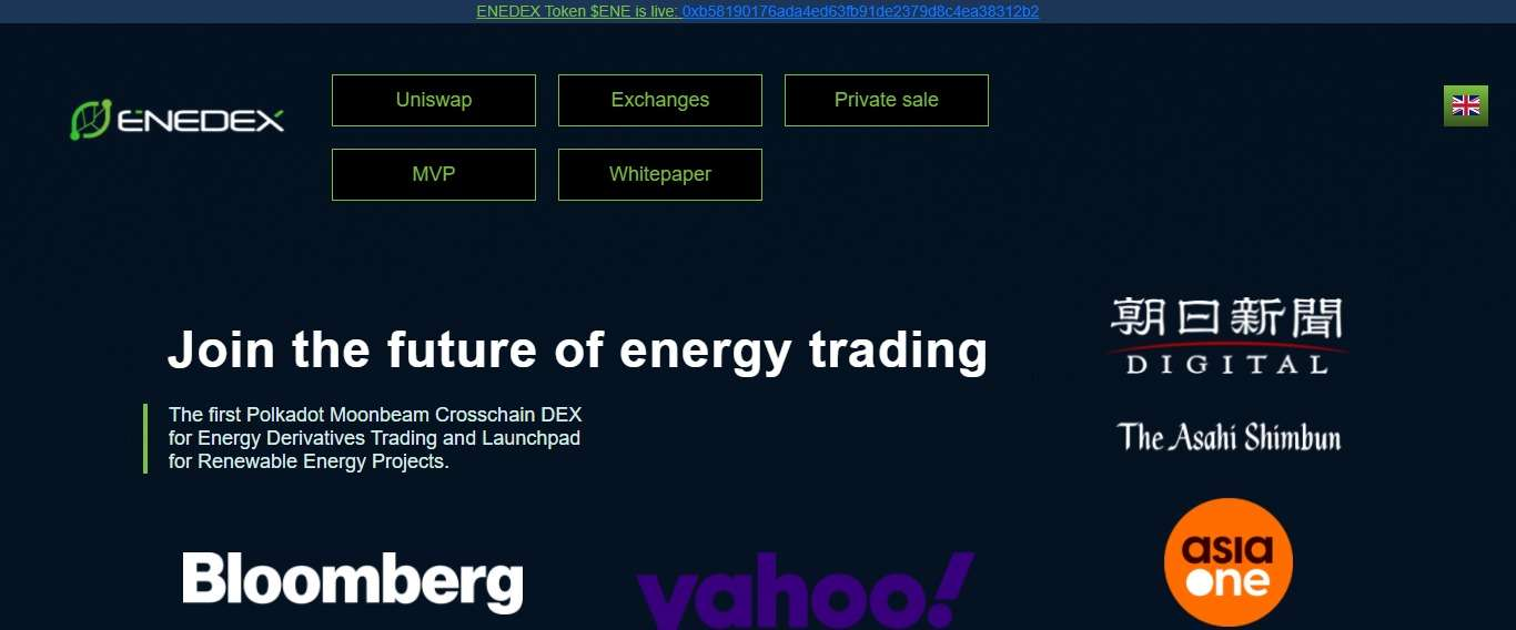 Enedex Airdrop Review: Low Transaction Fees for Green Energy