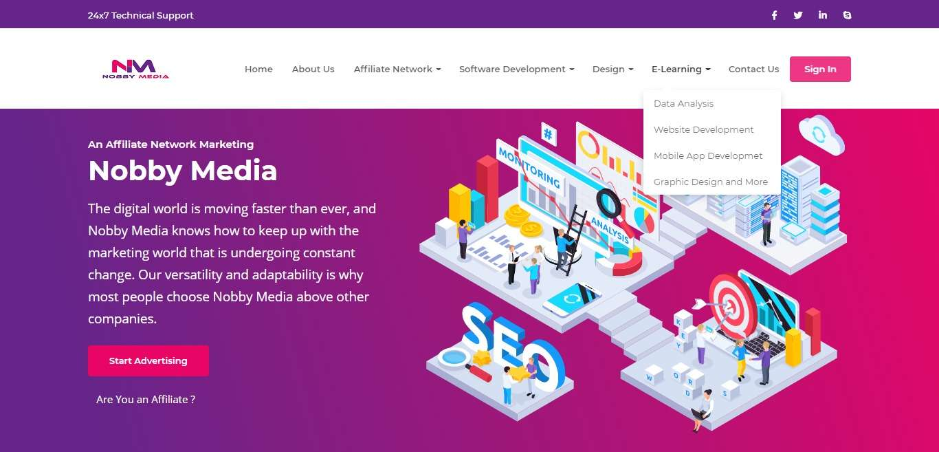 Nobby Media Advertising Review : An Affiliate Network Marketing