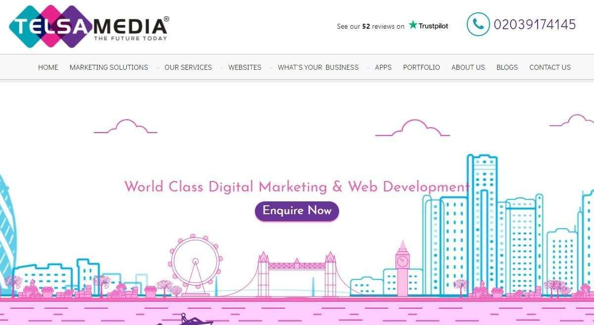 Telsa Media Advertising Review : World Class Digital Marketing & Web Development