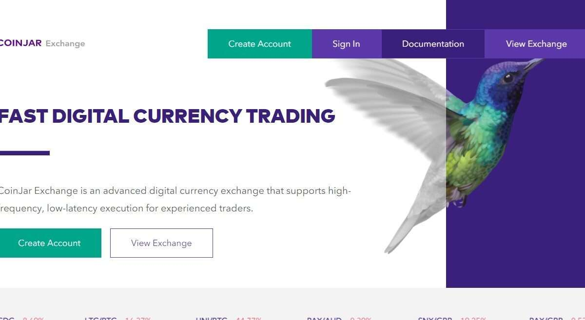 CoinJar Exchange Review : Fast Digital Currency Trading