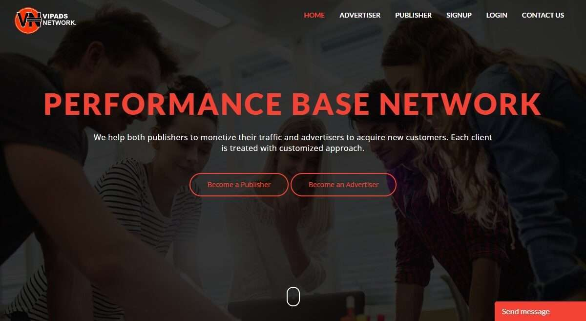 Vipadsnetwork.com Advertising Review : Experienced Account Managers
