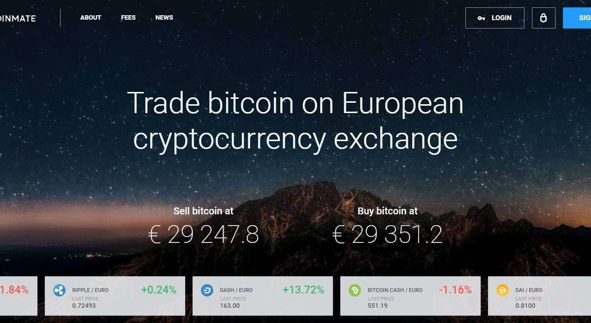 Coinmate Exchange Review : Trade Bitcoin on European Cryptocurrency Exchange