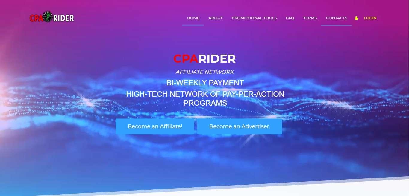 CpaRider Advertising Review : It Is Safe Platform