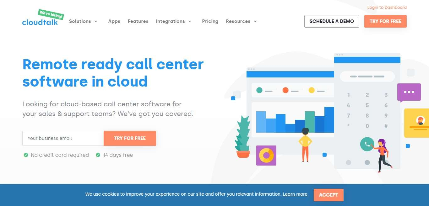 CloudTalk Advertising Review : Cloud-Based Call Center Software Ready for Remote work