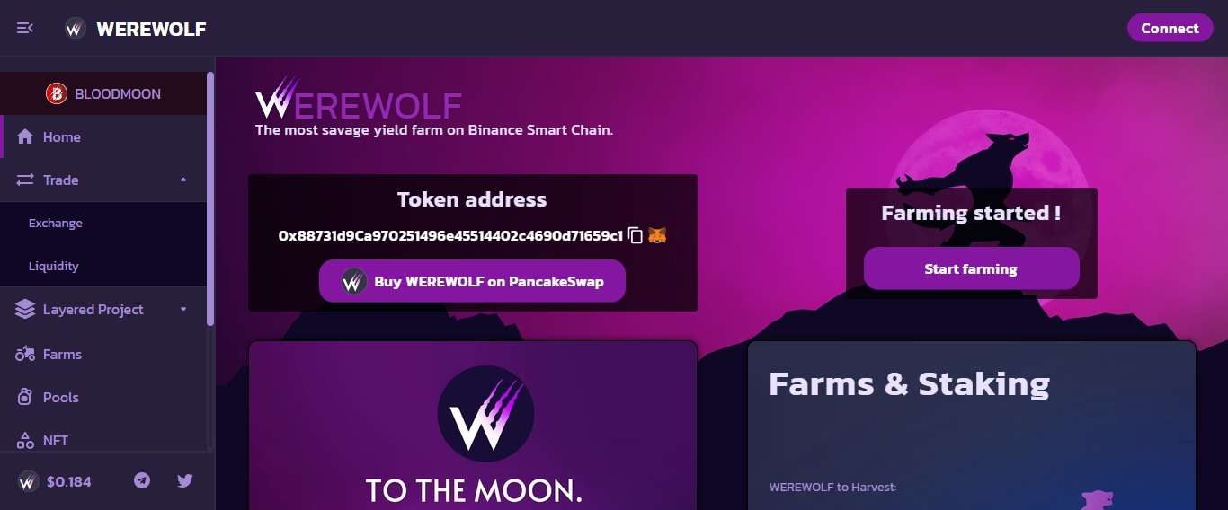 Werewolf Defi Coin Review: The Most Savage Yield Farm on Binance Smart Chain.