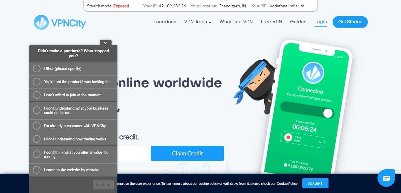 VPNCity Advertising Review : Multiple Payment Gateways