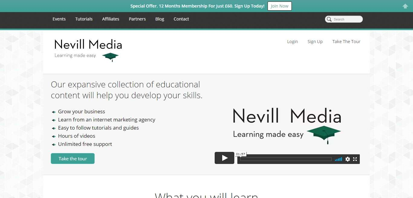 Nevill Media Advertising Review : Learning Made Easy