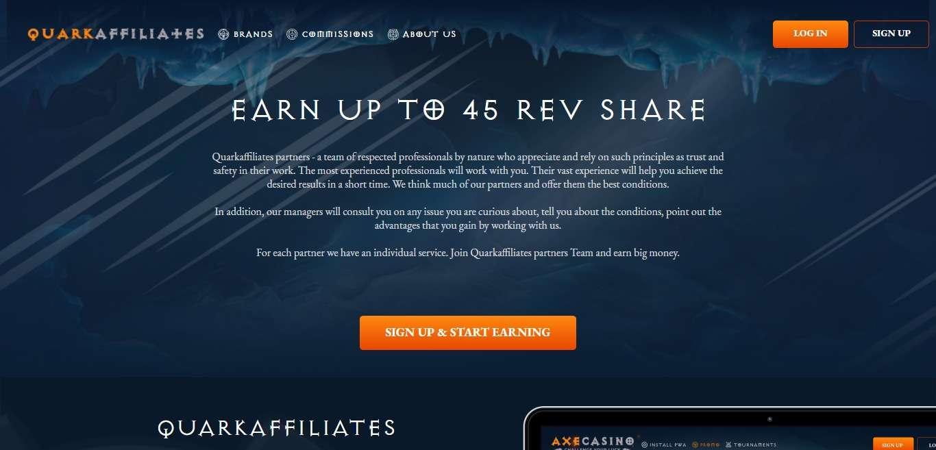 Quark Advertising Review : Earn 25% - 40% Recurring Revenue Share