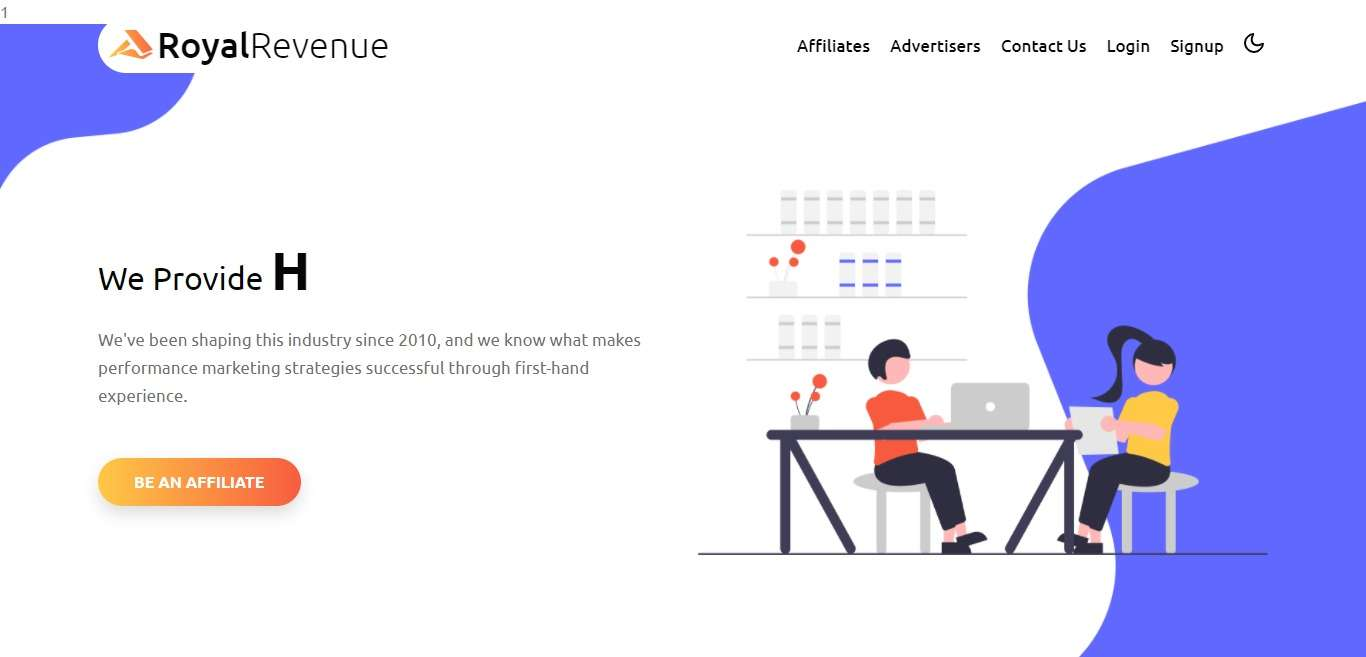 RoyalRevenue Advertising Review : Verticals You Want, Rates You'll Need