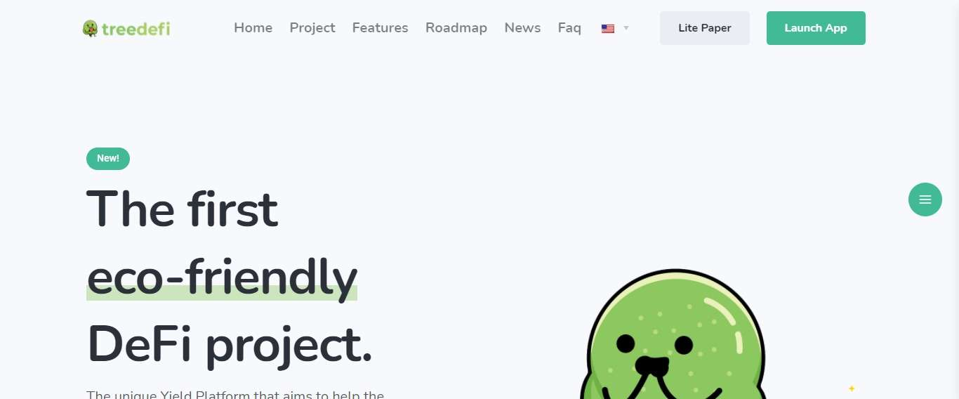 Treedefi.com Defi Coin Review: The First Eco-friendly DeFi Project