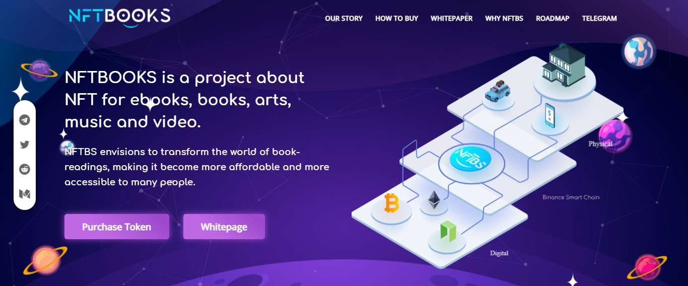 What Is Nftbooks (NFTBS) Coin Review?: Guide About Nftbooks.