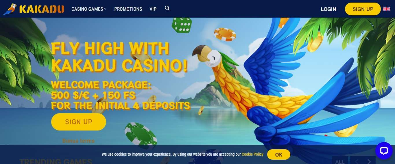 Casino kakadu.com Review: 100% up to €/$200 Along with 100 Free spins