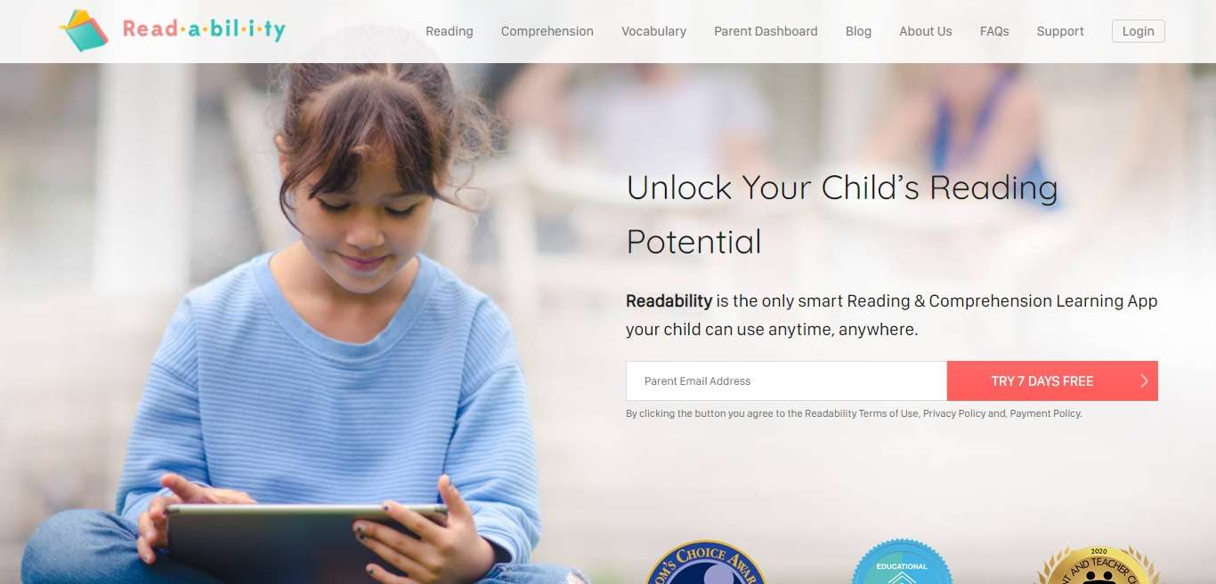 Readability Advertising Review : Advanced Database Tracking
