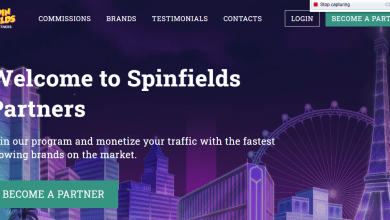Spinfields Partners Advertising Review : Up to 50% recurring revenue share