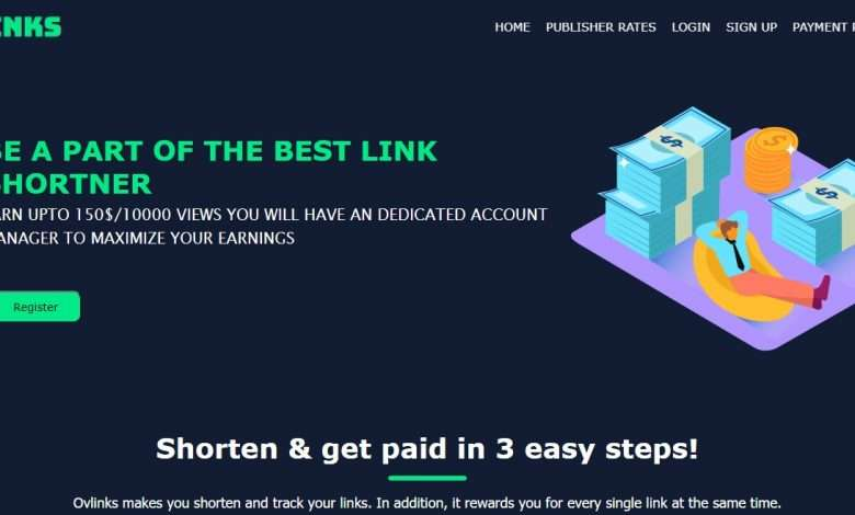 Ovlinks Advertising Review : Up to $15 per 1000 views