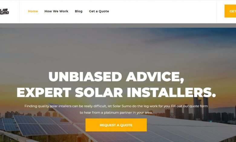 Solar Sumo Advertising Review : $25 AUD for Residential Leads, $75 AUD for Commercial Leads