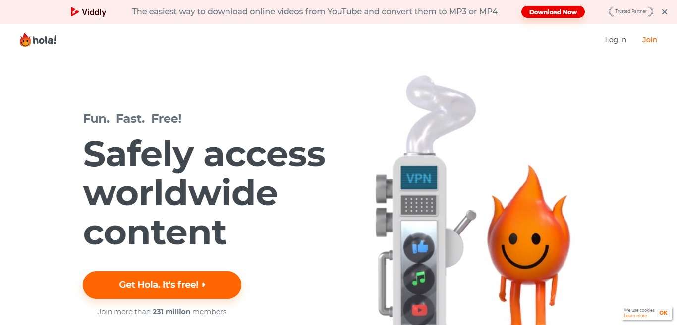 Hola VPN Advertising Review : Up to 80% Per Sale, 30% Recurring Commission