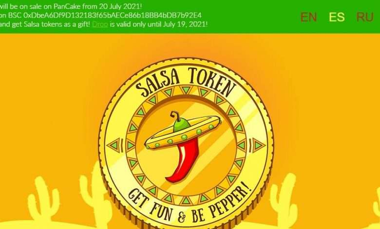Salsa Valley Airdrop Review: 2% of Every Transaction is Taken