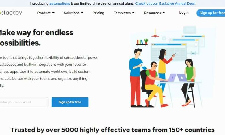 Stackby Advertising Review : Solve Real Problems