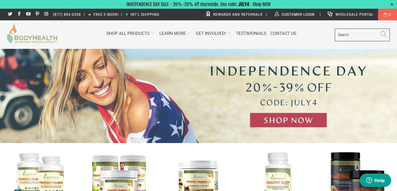 BodyHealth Advertising Review : Earn Profit Up To 10% commission on each sale