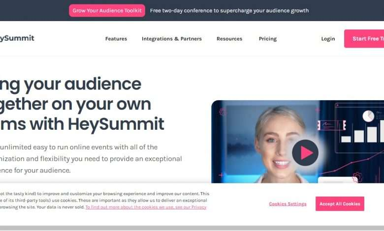 HeySummit Advertising Review : 30% Recurring Commission