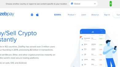 Zebpay.com Exchange Review: Buy/Sell Crypto Instantly