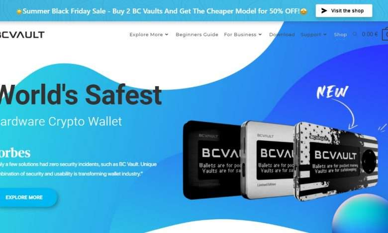 BC Vault Advertising Review : 10% commission on each sale