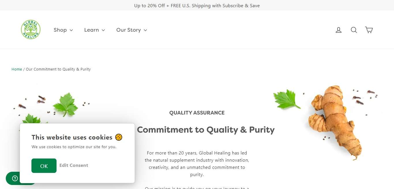 Global Healing Advertising Review : 10% commission + up to 20% bonuses