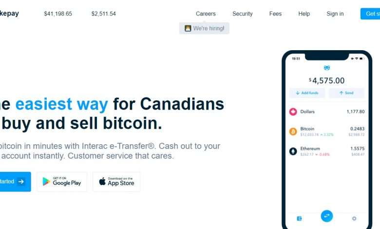 Shakepay Advertising Review : $30 CAD after referral buys $100 of crypto currency