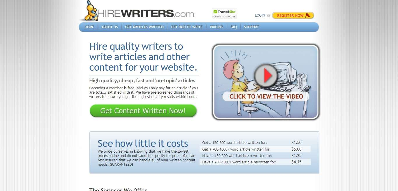HireWriters Advertising Review : It Is Good Or Bad Review