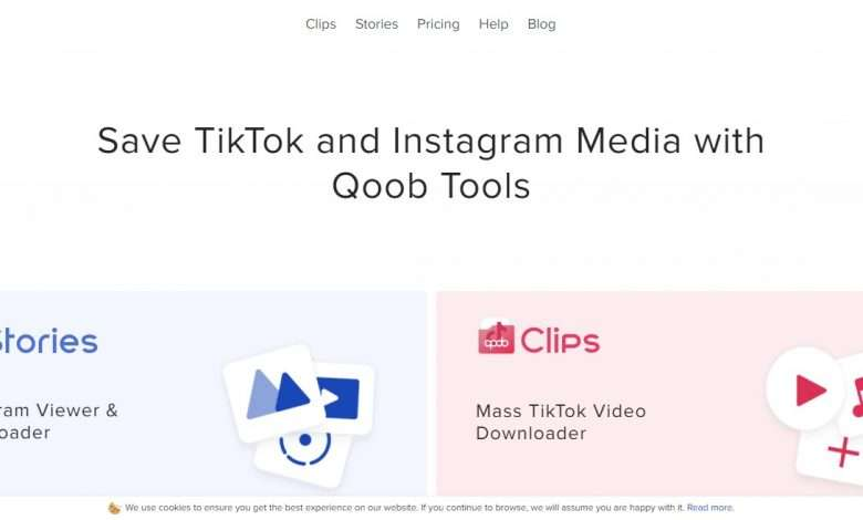 Qoob Advertising Review : Save TikTok and Instagram Media with Qoob Tools