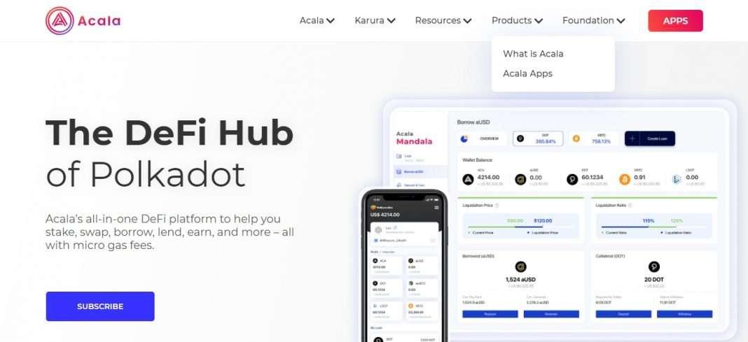 Acala Network Ico Review: The DeFi Hub of Polkadot