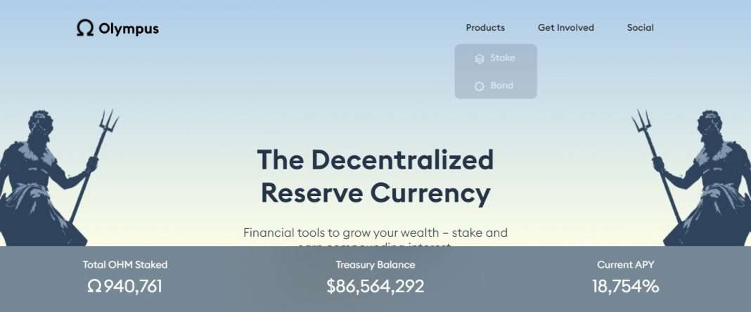 Olympus Defi Coin Review: The Decentralized Reserve Currency