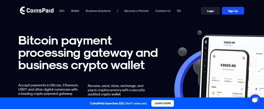Coinspaid.com Ico Review: All Crypto Services for Business in One Place