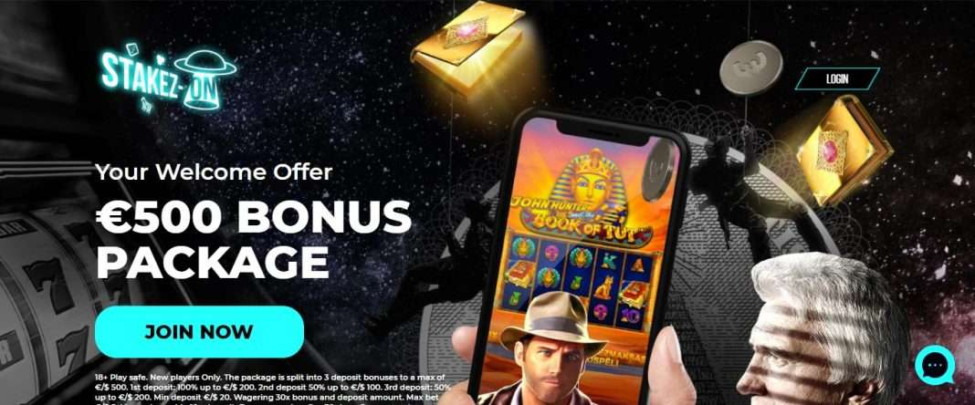 Stakezon.com Casino Review: Your Welcome Offer €500 BONUS Package